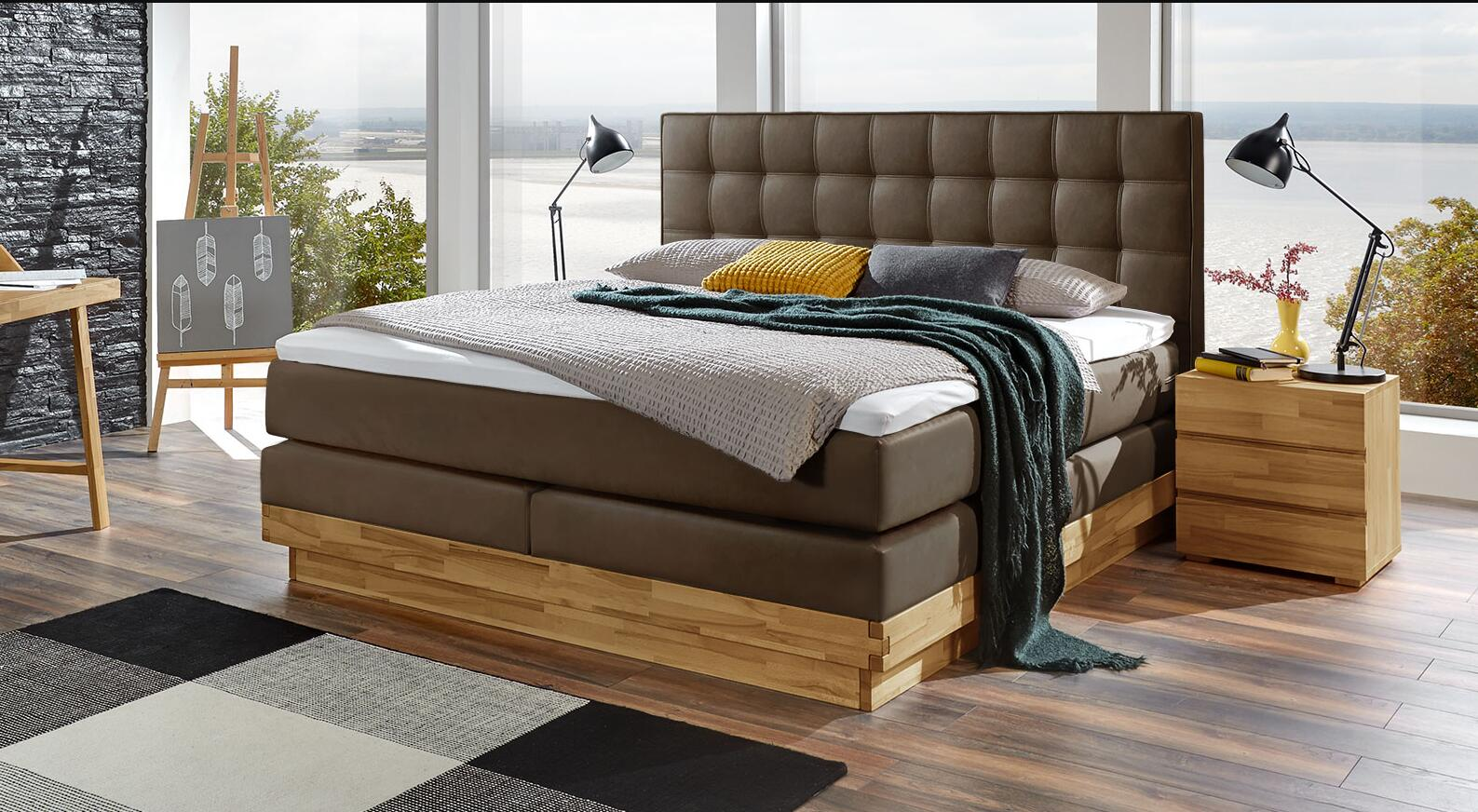 What do the hardness specifications mean for box spring beds
